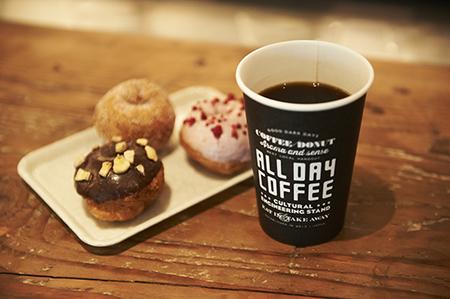 ALL DAY COFFEEのバイトメイン写真