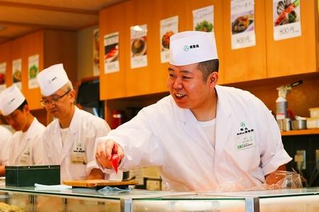 梅丘 寿司の美登利 アトレ吉祥寺店のバイトメイン写真