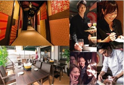 テラスBBQビアガーデン&鮮魚・和紙しゃぶ 虎てつ -KOTETSU- 五反田店のバイトメイン写真