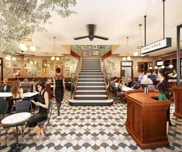CAFE DE NATUREのバイトメイン写真