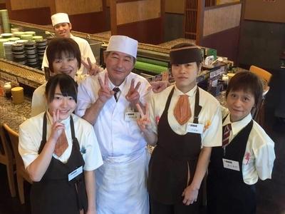 寿しまどか川東店のバイトメイン写真
