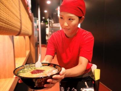 天然とんこつラーメン 一蘭 大阪門真店のバイト写真2