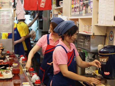 築地 海鮮丼 大江戸 築地市場内店のバイトメイン写真