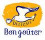 【デリカフェ Bon gouter】のロゴ
