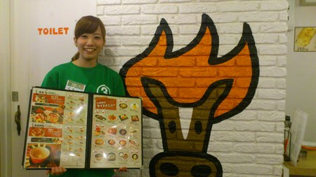 東京馬焼肉三馬力のバイトメイン写真