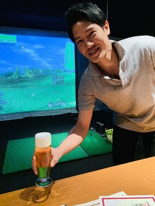 ゴルフバー&ダイニング 新橋ゴルフスタジオのバイトメイン写真