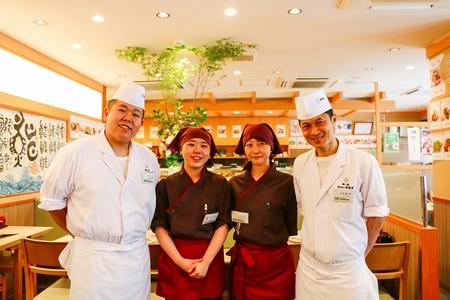 梅丘 寿司の美登利 玉川店のバイト写真2