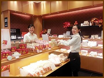 よーじやカフェ 羽田空港第一ターミナル店のバイト写真2