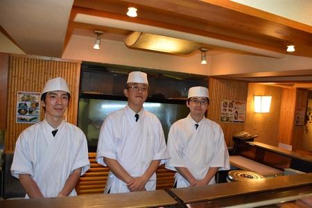 すし屋銀蔵 東京海上日動本館店のバイトメイン写真