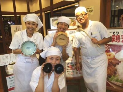 丸亀製麺みらい長崎ココウォーク店のバイトメイン写真