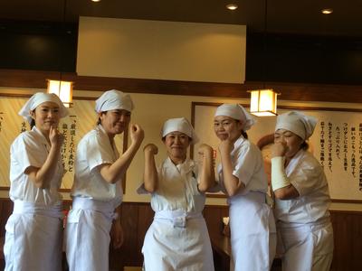 丸亀製麺越前店のバイトメイン写真