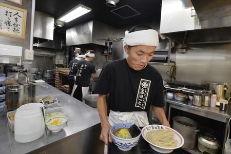 松戸富田製麺(アウトレット木更津)のバイトメイン写真
