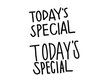 【TODAY'S SPECIAL 】のロゴ