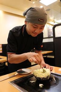 鶴橋風月 イオンモール神戸北店 [228]のバイト写真2