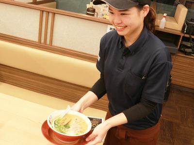 ラーメン横綱 千葉ニュータウン店のバイトメイン写真