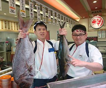 寿司まどか 中山店のバイトメイン写真