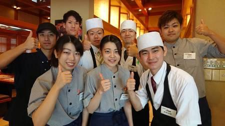 ふぁみり庵はいから亭寿司まどか 川内店のバイトメイン写真
