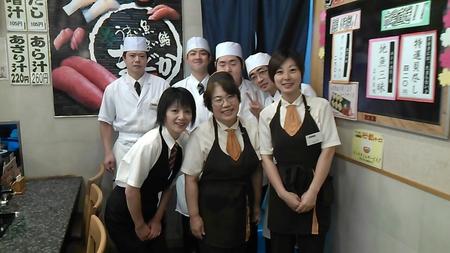 寿司まどか 水俣店のバイトメイン写真
