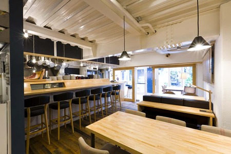 cafe bleuのバイトメイン写真