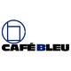 【cafe bleu】のロゴ