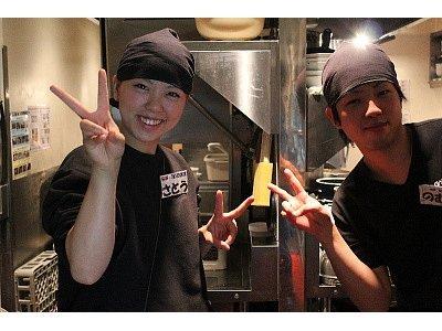 牛角黒埼店のバイトメイン写真